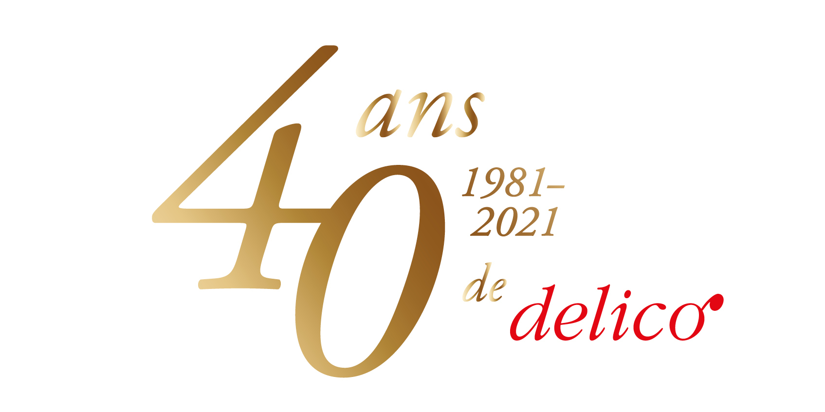 Nous fêtons notre 40e anniversaire!